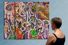 "55""- EXOTIC MAGIC___________ORIGINAL painting by IOV !!"