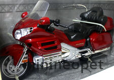 MOTORMAX 76264 HONDA GOLDWING GL 1800 BIKE MOTORCYCLE 1/6 RED