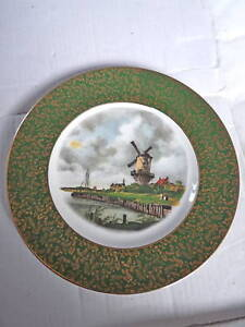 VINTAGE 1950s-1960 WALL PLATE WINDMILL WOOD & SONS