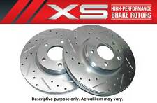 XS DRILLED+SLOTTED FRONT BRAKE ROTORS 2 PCS 1998-2002 CAMARO FIREBIRD FORMULA