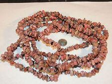Rhodonite Nugget Gemstone Beads (4222)
