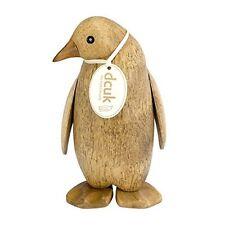 Natürliches Holz Klein Kaiser Pinguin Handgeschnitzt von Dcuk