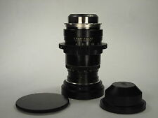 Lenkinap PO18-2 Red P f/2 100mm cine lens adapted to PL fullfocus S/N 602122 CLA