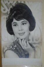1950+ Hong Kong Chinese Actress Lin Dai 林黛 小姐 Real Photo 9x14cm