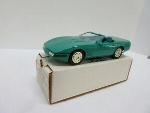 1991 Chevrolet Corvette Convertible Limited Edition Turquoise Metallic Promo Car