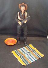 """Vintage 1973 Gabriel Lone Ranger's """"Butch Cavendish"""" 10"""" Action Figure! GREAT!"""