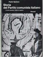 Storia Del Communist Party Italiano. III The Front Top, Stalin, The War