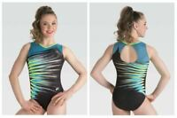 GK Elite Wanderlust Gymnastics Leotard Child & Adult Sizes New With Tags