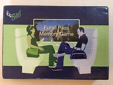 Eurail Pass Memory Board Travel Game - NEW - Euro, Europe Train Collectable