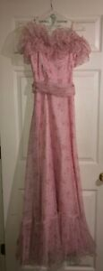 Vintage 70's Prom Dress