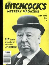 Alfred Hitchcock's Mystery Magazine July 1976 EX 030217nonjhe
