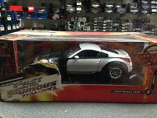 1:18 Ertl presque and Furious: Tokyo Drift Nissan 350z RARE