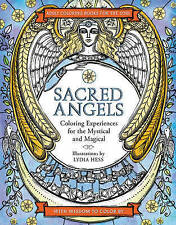 Sacred Angels (Coloring Books for the Soul), Hess, Lydia, New Book