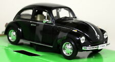Nex 1/24 Scale Volkswagen VW Beetle Hardtop Black Diecast Model Car