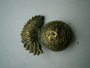 NORTHUMBERLAND FUSILIERS ARMY BADGE