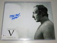 """Tobin Bell """"Jigsaw"""" Signed 11x14 Photo Autograph Beckett BAS COA"""