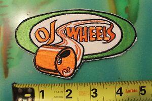 OJ Wheels Santa Cruz Skateboards Classic 70's NOS Rare Original Vintage PATCH