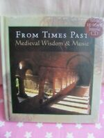 Medieval Wisdom and Music: From Times Past (Book & CD) Gregorian New Gift