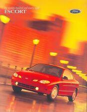 Ford Escort Prospekt USA 1998 brochure Auto PKWs Autoprospekt Broschüre Amerika
