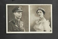1939 CHRISTMAS CARD SIGNED BY GEORGE V1 and QUEEN ELIZABETH