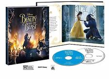 DISNEY'S BEAUTY & THE BEAST 2017 LIVE ACTION TARGET EXCLUSIVE BLU-RAY DIGIBOOK N