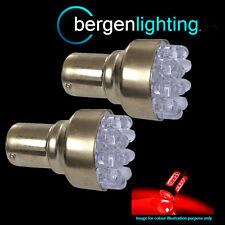 382 1156 BA15S 245 207 P21W XENON ROSSO 12 LED a Cupola FRENO Lampadine HID bl200202