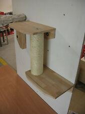 Kratzsäule 68 cm mit 2 Sitzbrettern zur Wandmontage Katzenmöbel