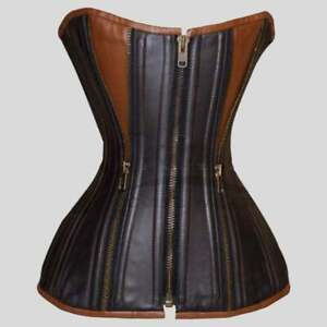 2021 New Real Leather Corset ladies fashion Dress Worldwide Expedited Shipping