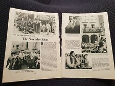 The Sun Also Rises - Vintage Hollywood - Book Print