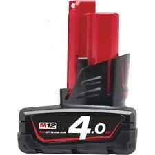 Batteria Litio Volt. 12 Ah.4.0 Cod. 4932430065 Milwaukee