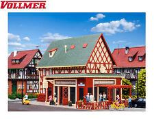 """Vollmer H0 43681 Luigis Pizzeria """"mit Inneneinrichtung + Beleuchtung"""" NEU + OVP"""