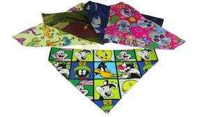 Handmade Dog Bandana Slide on Collar  Neckerchief Scarf Dog present holiday U.K