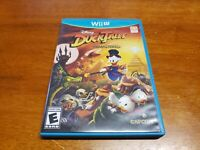 DuckTales: Remastered (Nintendo Wii U, 2013) TESTED Fast Shipping