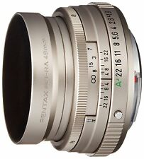 PENTAX Standard-Medium Telephoto Single Focus Lens FA 43mm F1.9 Limited Silver