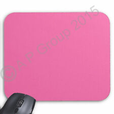PINK 5mm Fabric Mouse Mat Pad Black Blue Green Grey Red Yellow Pink * 3 FOR 2