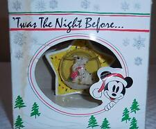 Walt Disney Mickey 1001 Dalmations Christmas Ornament - Twas the Night Before.