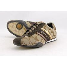 Coach Jayme Women US 5 Brown Sneakers Pre Owned  1829
