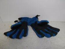 Scott Youth Gloves Blue/Black Large New !!!