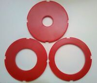 New Router Table Insert Ring Set, 97mm OD, Sears Craftsman,Ryobi,Bosch Set of 3