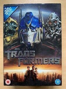 Transformers DVD 2007 Live Action Family Sci-Fi Feature Film Movie w/ Slipcover