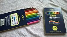 SET OF BRAND NEW 12 art colour pencils by Nexus, (unopened & unused)