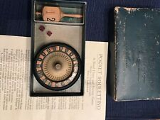 Antique Roulette/Roulettino Gambling game boxed Switzerland VERY RARE