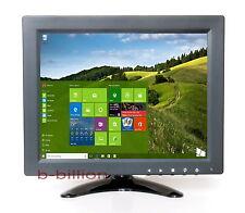 "9.7"" HD HDMI AV CCTV BNC Surveillance Display VGA 1024x768 TFT LCD Monitor UK"