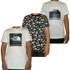 Die North Face Jungen Mädchen Jugend T-Shirt Bedruckt Rundhals Baumwolle GRÖSSE