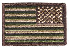 HOOK/LOOP United States flag 3x2 woodland multicam stars right US3x2woodRV patch