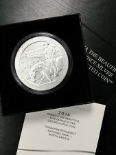 2016 Theodore Roosevelt AMERICA THE BEAUTIFUL 5oz SILVER COIN .999 US MINT!
