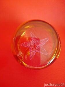 Caithness Wee Star Paperweight - 202 grams in weight