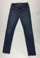American Eagle Outfitters Skinny Stretch Women's Blue Jeans Size 00 Reg/Standard