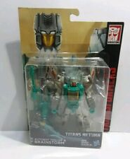 Transformers: Titans Return: Autobot Teslor & Brainstorm, 2017/18, New, Hasbro