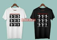 New The Expressions of Tucker Carlson LIMITED EDITION Men's Black White T-Shirt